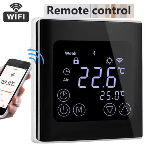 Neu WiFi Funk Fußbodenheizung Thermostat 16A Programmierbar Raumthermostat Top
