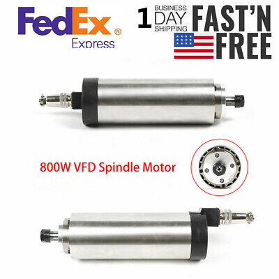 Er11 800w 110v Air Cooled Spindle Motor 4 Bearings Engraving Mill Quality Usa