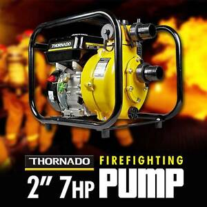 THORNADO 2 Inch 7HP Fire Fighter Petrol Water Pump Twin Impeller Chipping Norton Liverpool Area Preview