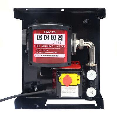Dieselpumpe Heizölpumpe selbstansaugend Zapfsäule Kraftstoffpumpe 230V/600W