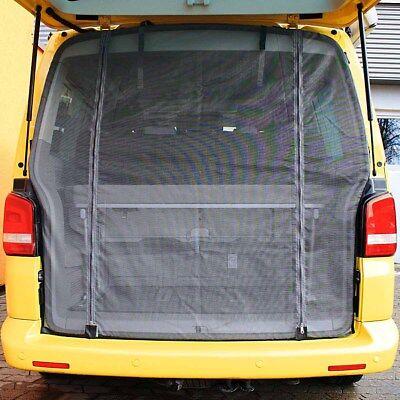 Insektenschutz Fliegengitter Moskitonetz für Heckklappe mit Magnet VW T5 T6 (14)