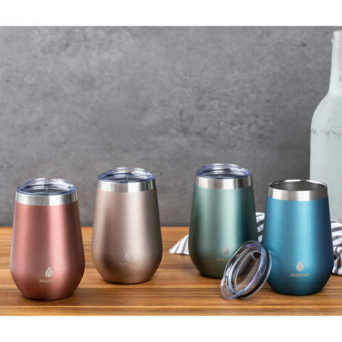 Manna Stainless-steel Vacuum Insulated Tumblers, 4-pack