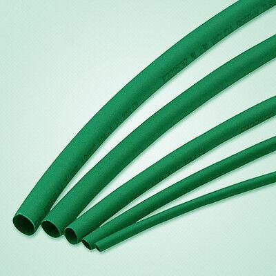 Us Stock Green Diameter 8mm Heat Shrinkable Tube Shrink Tubing Length 6m20ft