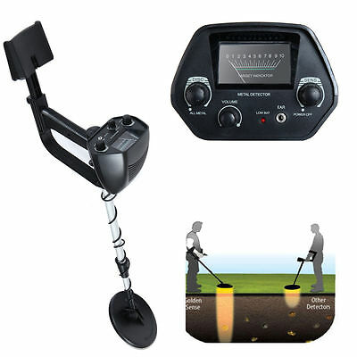 Waterproof Metal Detector Deep Sensitive Search Gold Digger Hunter 6.5