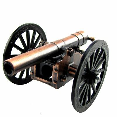 Civil War Field Cannon Die Cast Miniature Replica Pencil Sharpener (Collectible Miniature Civil War Cannon)