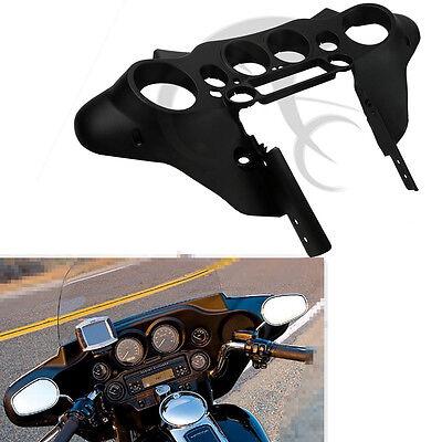Black Speedometer Cover Inner Fairing For Harley Touring Electra Glide FLHTC