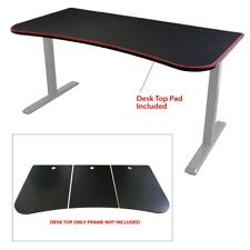 "Boost Industries UNI-DT Ultimate 63"" Gaming Desk Top Only (Black)"