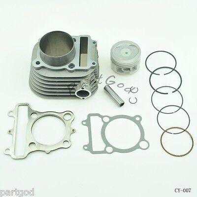 Cylinder Piston Top End Kit for Yamaha Timberwolf 250 ATV 1992-2000  E1 CY-7