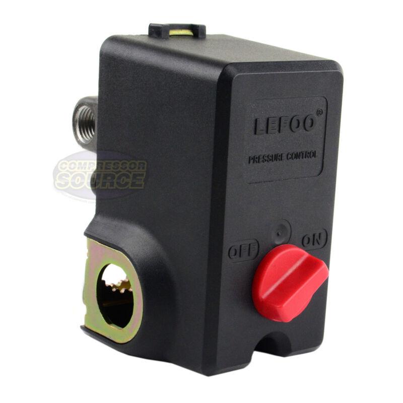 4 Port Air Compressor Pressure Switch Control Valve 140-175 PSI Import Style