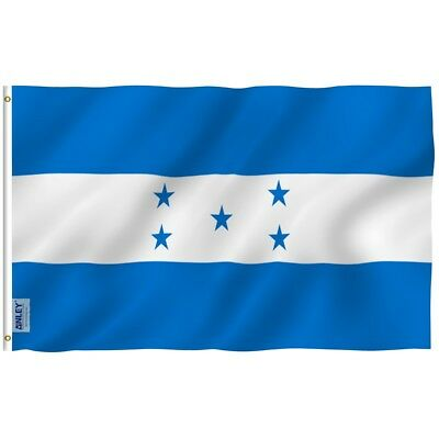 ANLEY Honduran Flag Honduras National Banner Polyester 3x5 Foot Country Flags