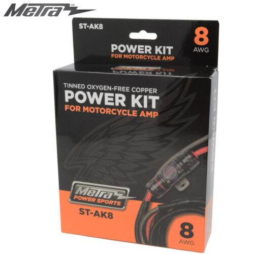 8awg powersports ampofc power wiring kit