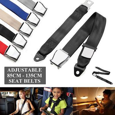 Adjustable Airplane Seat Safe Belt Plane Seatbelt Extenders Aerospace Seat  ()