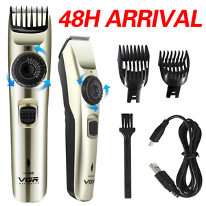 New Professional Hair Clippers Mens Trimmers Machine Cordless Beard Shavers UK