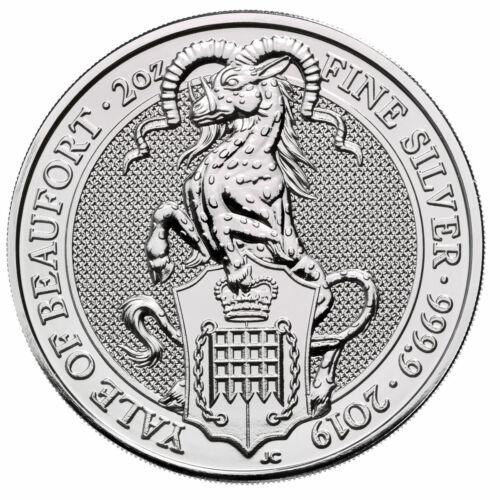 2019 Britain 2 oz Silver Queen