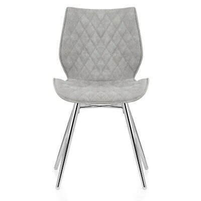 Lux Chrome Dining Chair