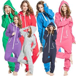 New-One-Piece-Jump-In-Suit-Adult-Fleece-Jumpsuit-Comfy-Romper-Unisex-Playsuit