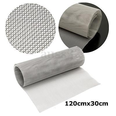 120x30cm47.2x11.8 Roll 25 Mesh Stainless Steel 316 Cloth Screen Filter Sheet