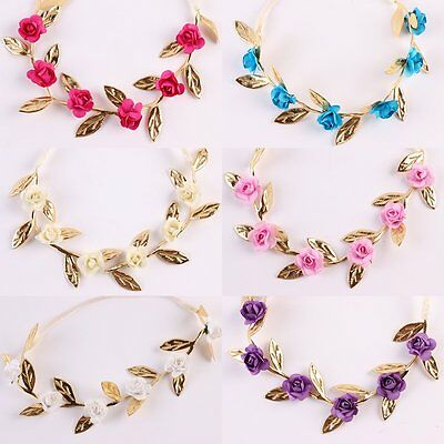 Kids Baby Infant Princess Flower Girl Hair Band Headband Headwear Accessories - Baby Flower Headband