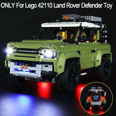 LED Light Lighting Kit ONLY For Lego 42110 Technic Land Rover Defender Brick Toy