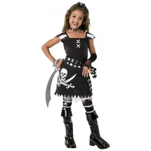 Pirate Costume for Girls Kids Halloween Fancy Dress