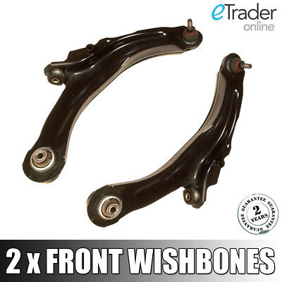 Renault Megane Mk2 Front Lower Wishbones Suspension Track Control Arms 03-09