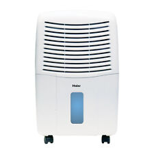 Haier 32 Pint Capacity Mechanical Control Dehumidifier with Wheels |  DM32M-T