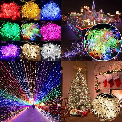 Christmas Tree String - 10M/20M 100/200 LED Fairy Christmas Xmas Tree String Lights Party Waterproof New