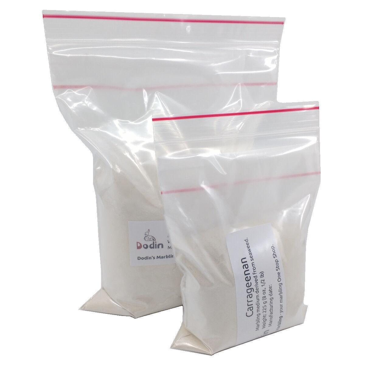 как выглядит Художественное покрытие или фиксатор Carrageenan Marbling Marbled Paper Fabric Supplies 225g 1/2lb Carrageen Carragen фото