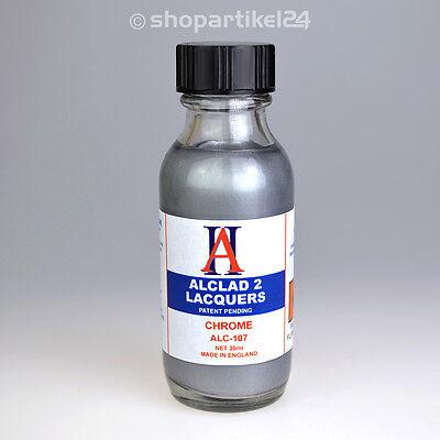 (19,83€/100ml) ALCLAD II Farbe CHROME 30ml - ALCLAD ALC-107