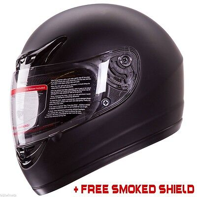 Full Face Motorcycle Helmet DOT Street Bike High Quality - US Free Shipping