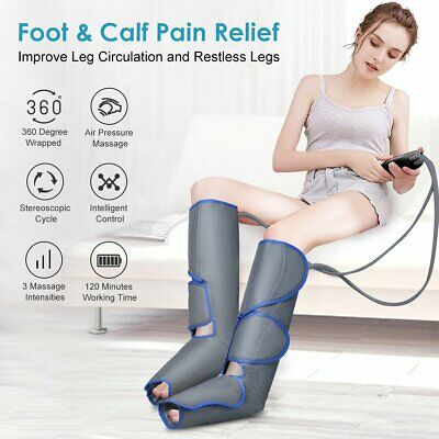Foot Leg Massager, Air Compression for Circulation Calf Feet Calf - USA - Biuble