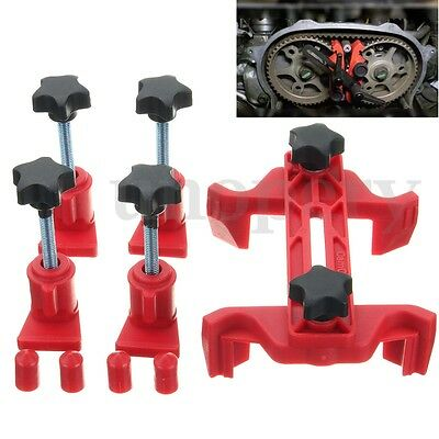 5X Universal Automobiles Dual Cam Clamp Camshaft Engine Timing Locking Tool Diy