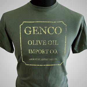Genco olive oil company retro movie t shirt the godfather for Vintage t shirt company