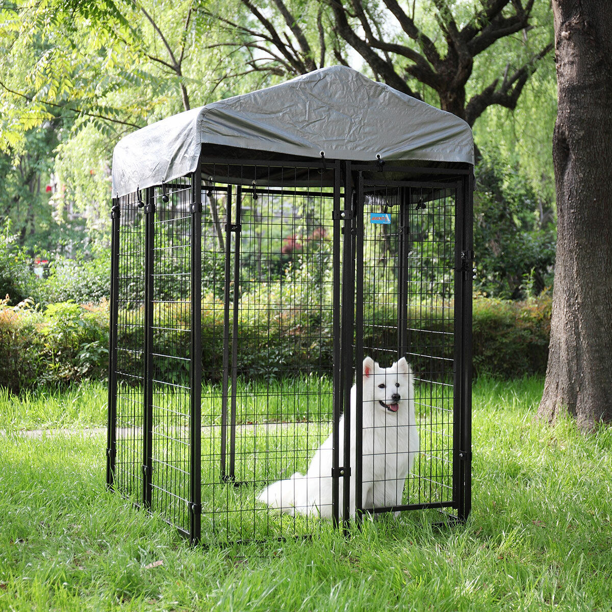 Dog Kennel Outdoor Indoor Crate Shelter Waterproof ...