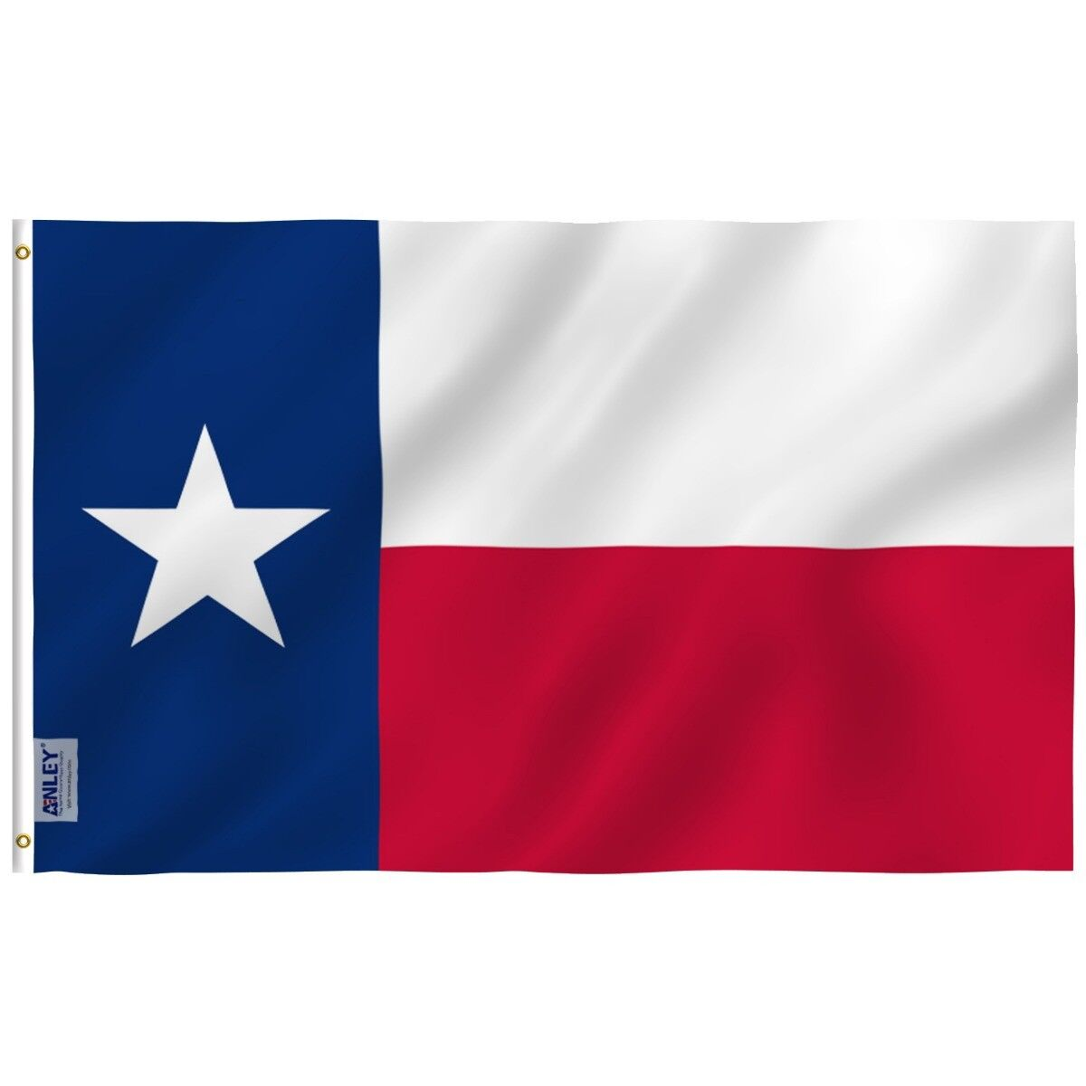 Anley Fly Breeze Texas State Flag 3x5 Foot Polyester Flags D