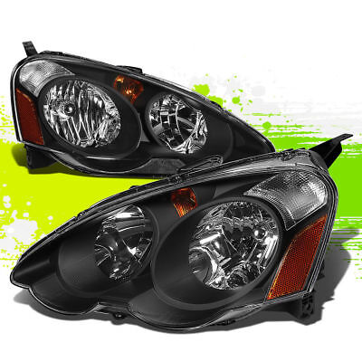 TIFFIN ALLEGRO BUS 2010 2011 2012 2013 HEADLIGHTS HEAD LAMPS RV BLACK - SET
