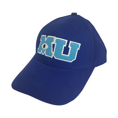 Mu Baseball Kappe Monsters University Hut Mike Wazowski Kostüm Cosplay - Monsters University Kostüm