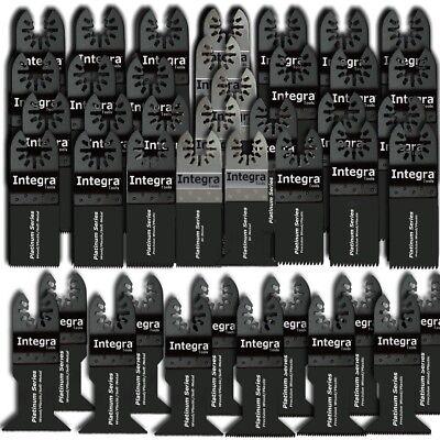 42 Pc Oscillating Multi Tool Saw Blade For Fein Multimaster Bosch Dremel Makita