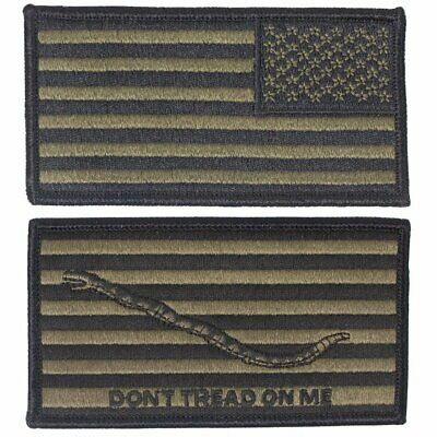 First Navy Jack - USGI US Navy Flag & First Navy Jack Embroidered Patch Combo - NWU Type III