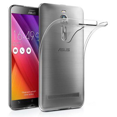 Pour Asus Zenfone Go ZB500KL Coque Arrière en Gel Silicone transparent