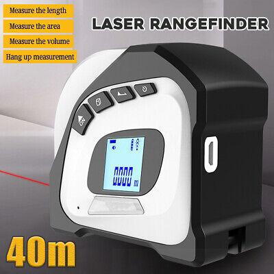 2 In 1 405m Laser Ruler Rangefinder Led Digital Tape Measure Distance