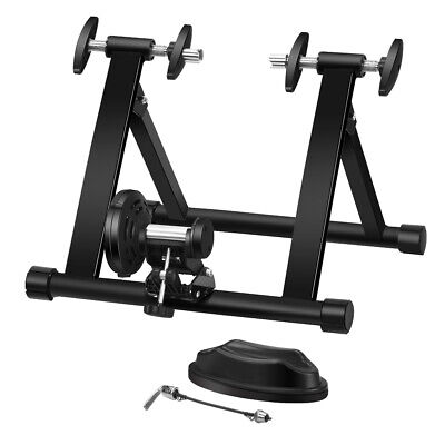 Bike Trainer Stand Portable Folding Steel Bicycle Indoor Exercise Training Stand