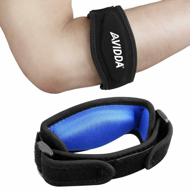 2 Pack Counter Force Elbow Brace Pain Relief Support Arm For
