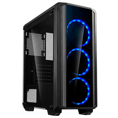 Computer Games - Gaming PC Intel Core i5 Computer Tower 4GB Ram 500GB HDD 2GB Graphics Windows 10