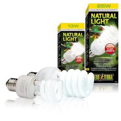 2.0 Light (Exo Terra Natural Light Terrariumlampe, Vollspektrum- Tageslicht Repti Glo 2.0)