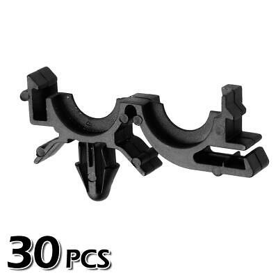 30x Nylon Wire Loom Routing Split Harness Conduit Clip for Buick LeSabre 00-02