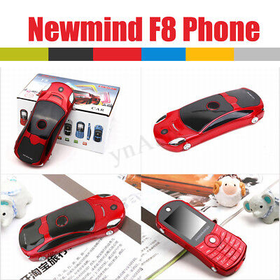 1.8'' Mini Car Shaped Mobile Cell Phone Flip Dialer MP3 FM Radio GPRS Dual  ! Cell Phone Auto Dialer