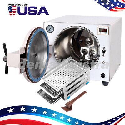 18liter Steam Autoclave Sterilizer Dental Pressure Sterilization Stainless Steel