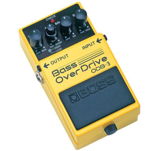 Boss ODB-3 Bass Overdrive Pedal Verzerrer