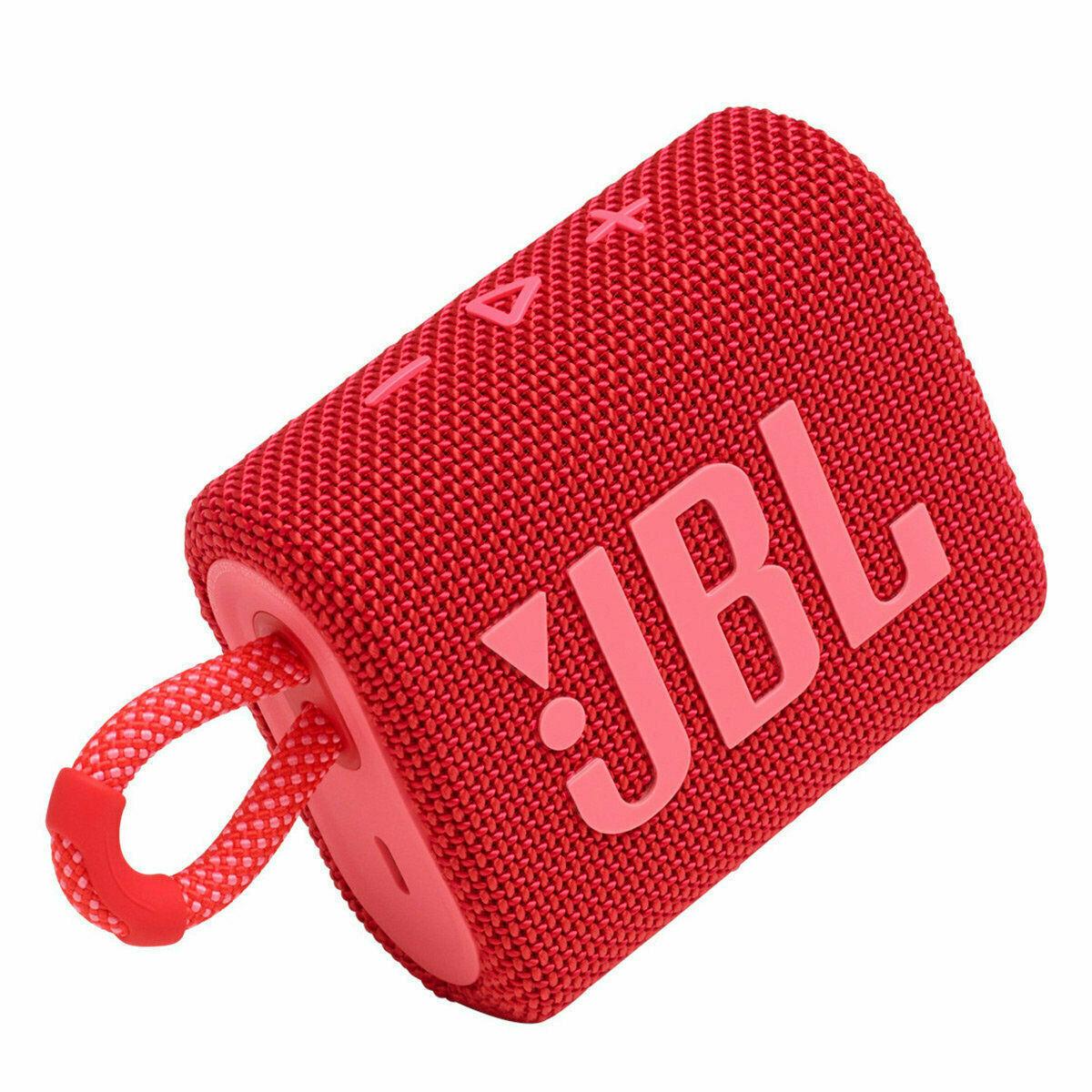 JBL Go 3 Portable Bluetooth Waterproof Speaker  Red at Kapruka Online for specialGifts